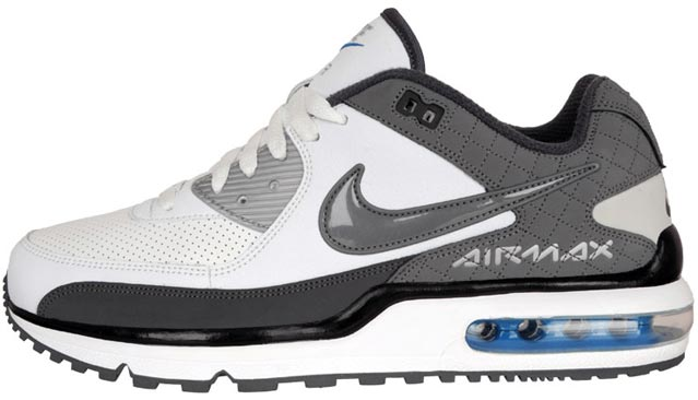 Nike Men's Air Max Wright Shoes WhiteCool Grey 317551 109