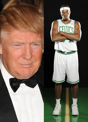 #Paul Pierce Donald Trump