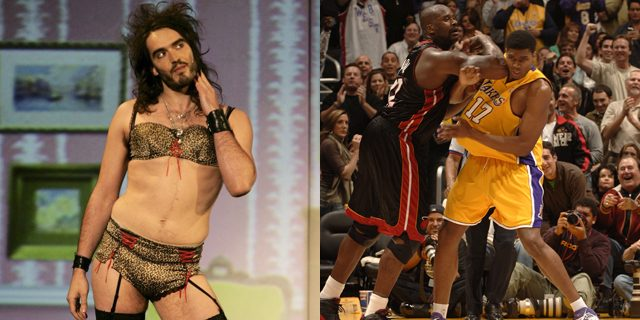 russell brand andrew bynum