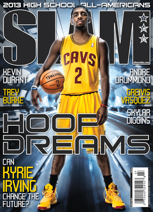 Kyrie Irving Covers SLAM Magazine