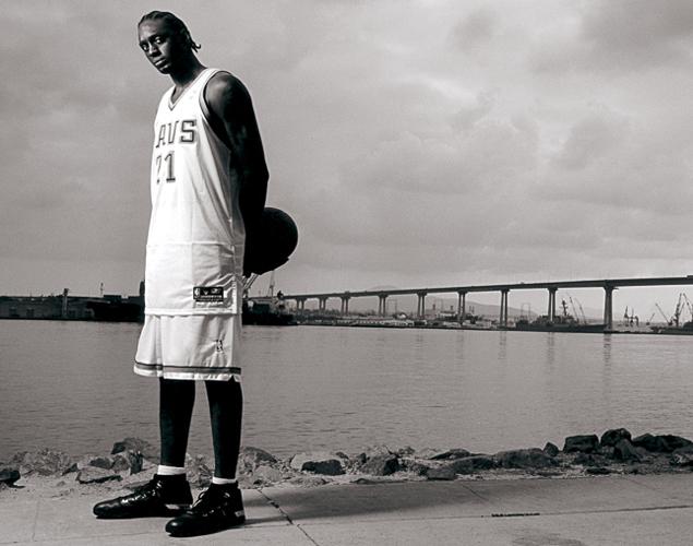 Darius Miles in SLAM Magazine