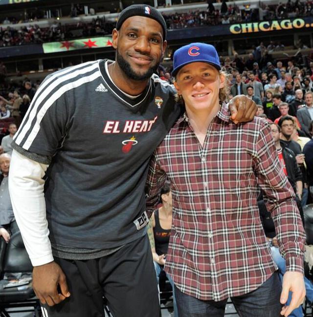 LeBron James and Patrick Kane