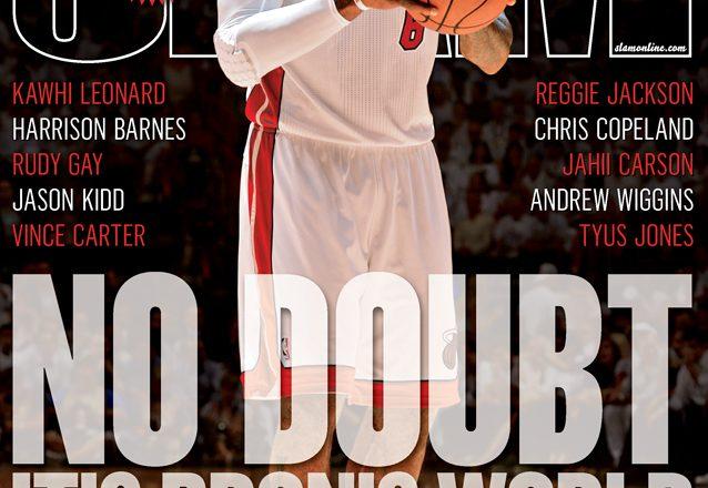 LeBron James SLAM 171 Cover