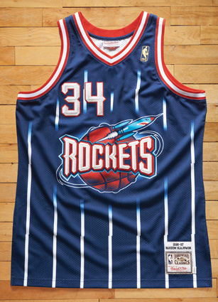 Hakeem Olajuwon Throwback Jersey