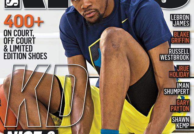 Kevin Durant Covers KICKS 16