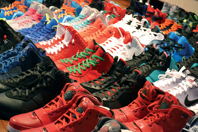 Garvin Louie's Sneaker Collection