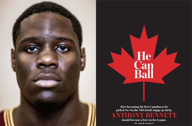 Anthony Bennett in SLAM Magazine