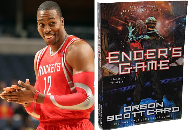 dwight howard + ender's game