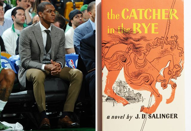Rajon Rondo + Catcher in the Rye