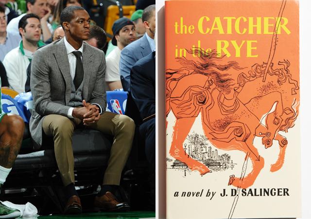 Rajon Rondo + Catcher in the Rye