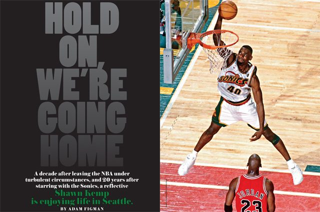 Shawn Kemp in SLAM Magazine
