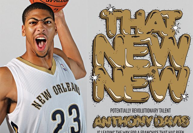 Anthony Davis in SLAM Magazine