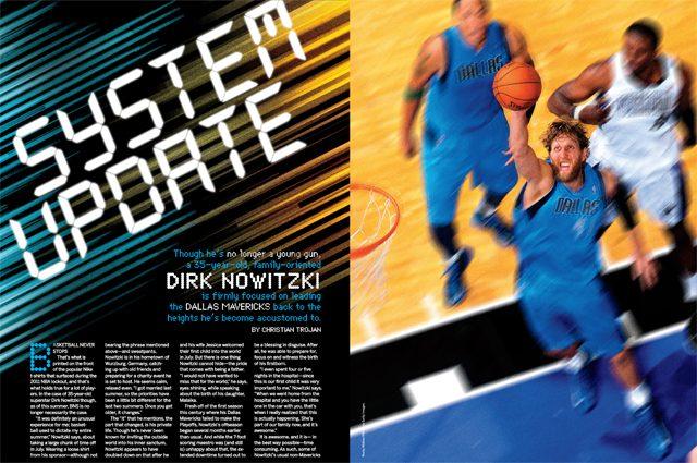 dirk nowitzki in slam magazine