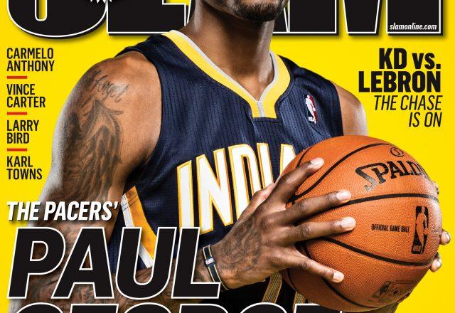 Paul George cover of SLAM Magazine