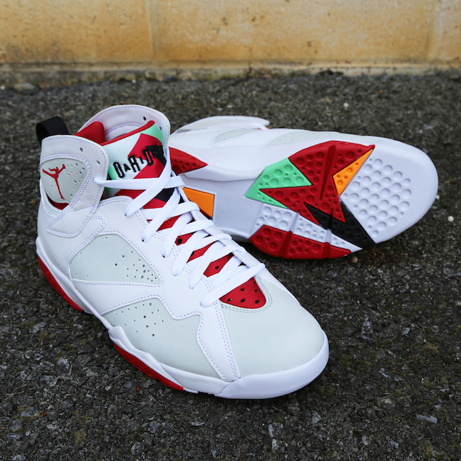 Air Jordan Vii Hare Kicks Slam