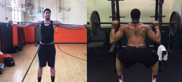 Anthony Davis Put on 12 Pounds of Muscle This Summer | SLAM