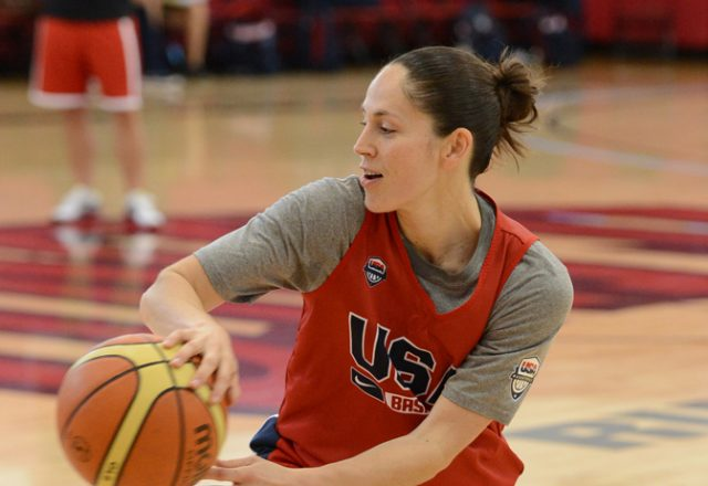 Sue Bird USA Basketball