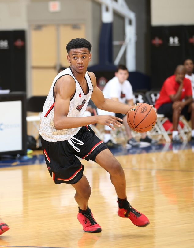 CHARLOTTE, NC - July 8, 2016: The Under Armour All America Basketball Camp at Queens University in Charlotte, NC. (Photo by Kelly Kline/Under Armour)