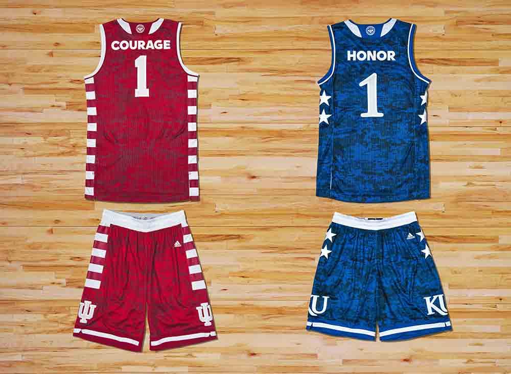 adidas kansas indiana uniforms