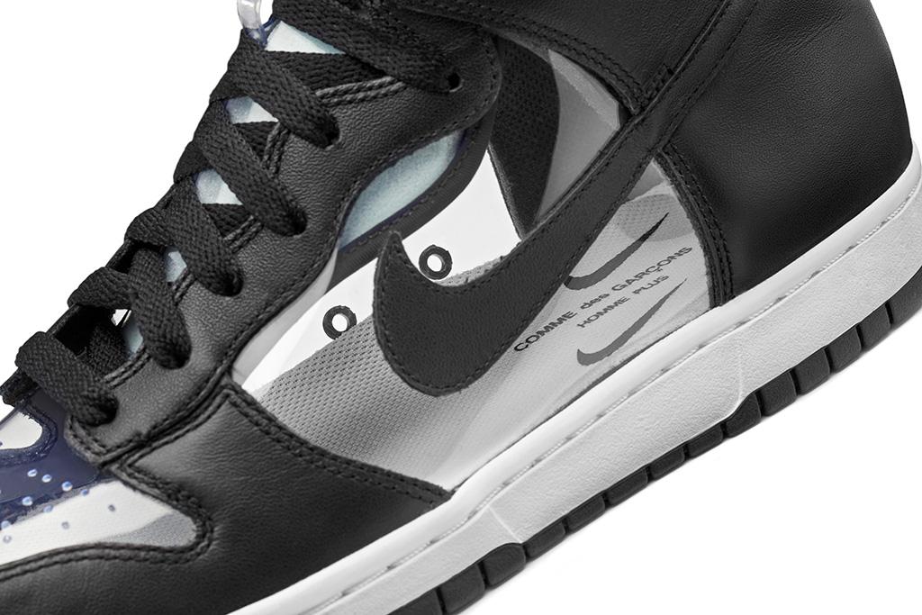 NikeLab Dunk Hi x COMME des GARÇONS