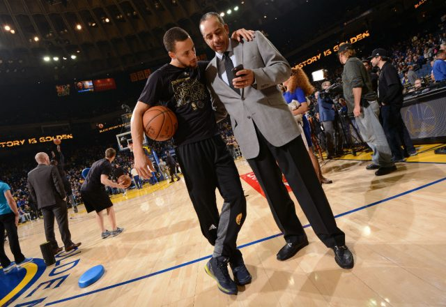 Stephen Curry, Dell Curry