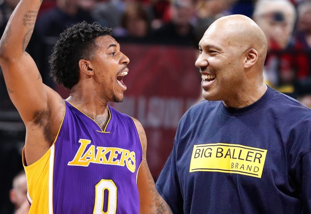 nick young lavar ball