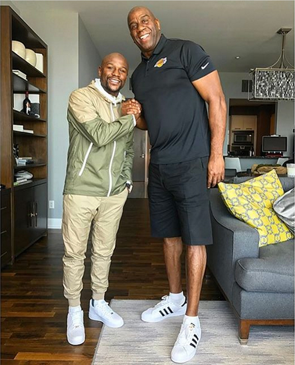 cinta Leve Adicto  Floyd Mayweather: 'It's About Time For Me To Buy An NBA Team'