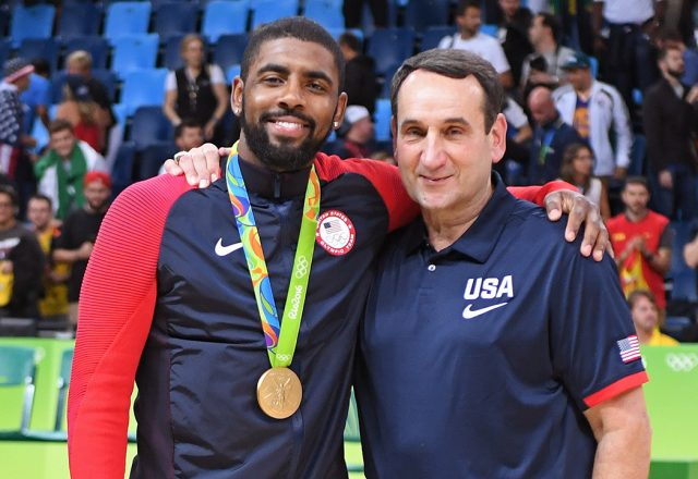 kyrie irving coach k
