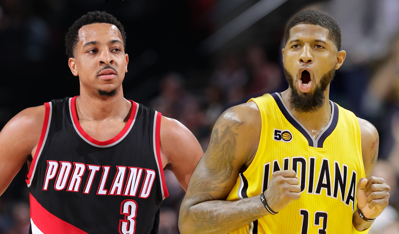 cj mccollum paul george