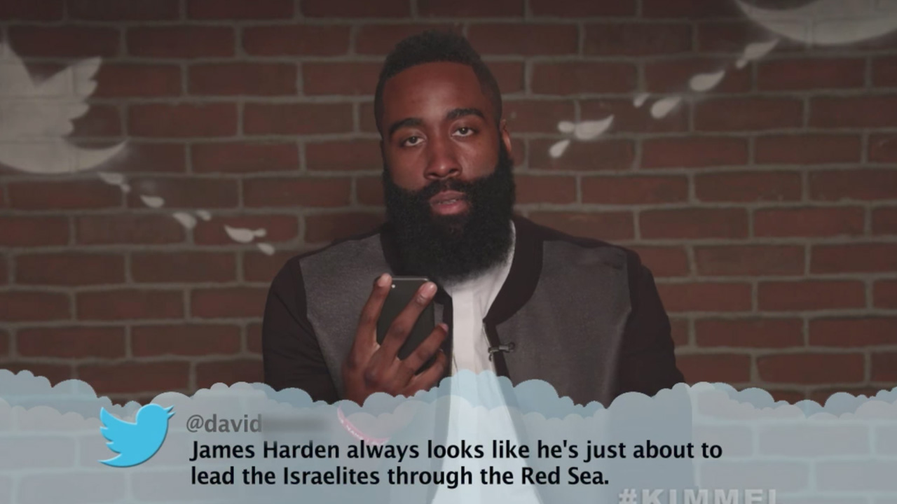 james harden mean tweets