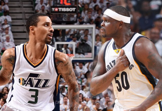 george hill zach randolph kings