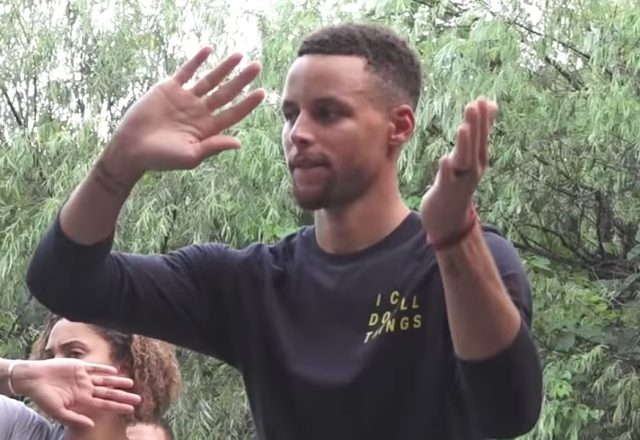 stephen curry tai chi