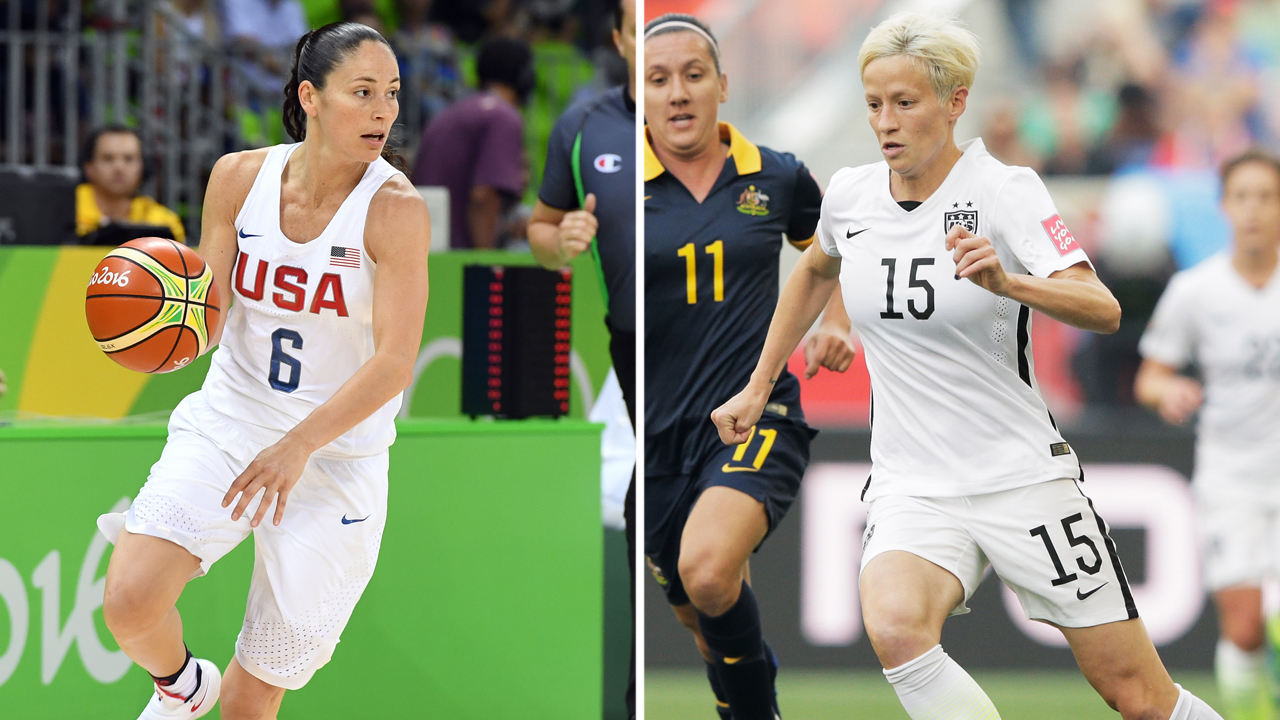 sue bird megan rapinoe relationship