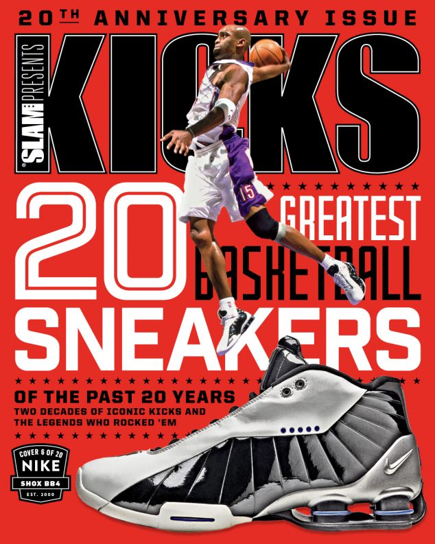 Top 20 Basketball Sneakers of the Past 20 Years: Nike Shox BB4