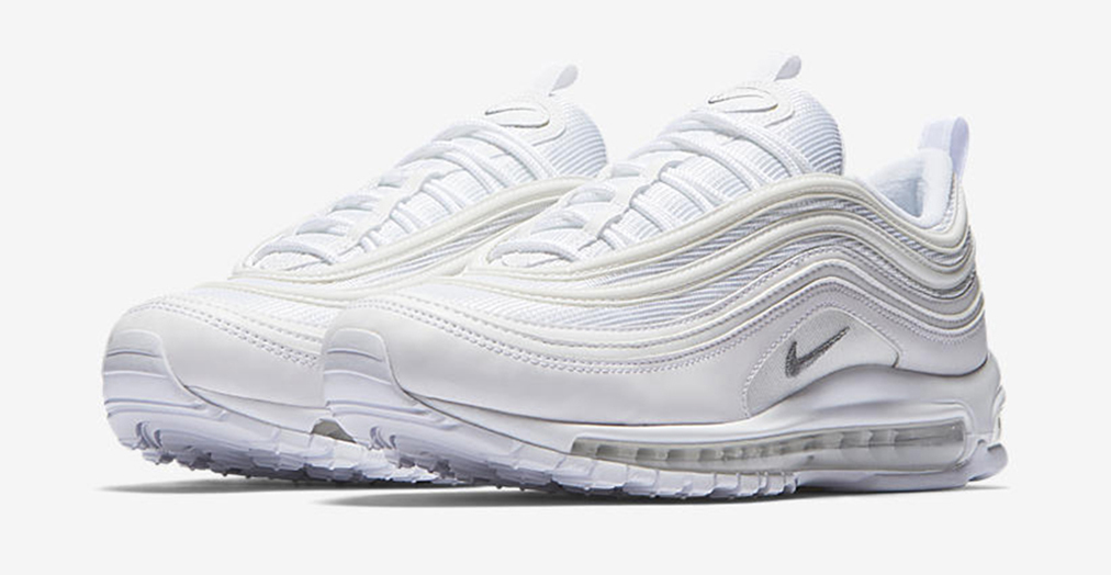 Nike Air Max 97 OG 'White & Wolf Grey' Color Way Is ...