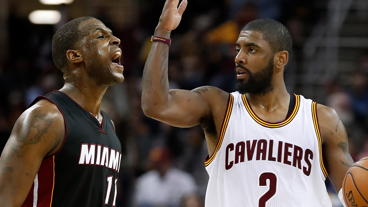 dion waiters kyrie irving alpha male