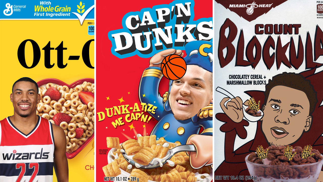 nba cereal boxes