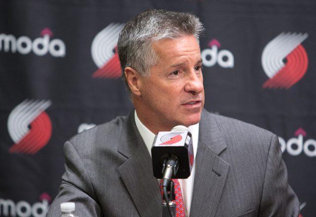 Portland Trail Blazers general manager Neil Olshey
