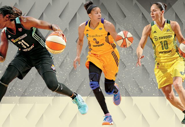 Tina Charles, Candace Parker, Sue Bird