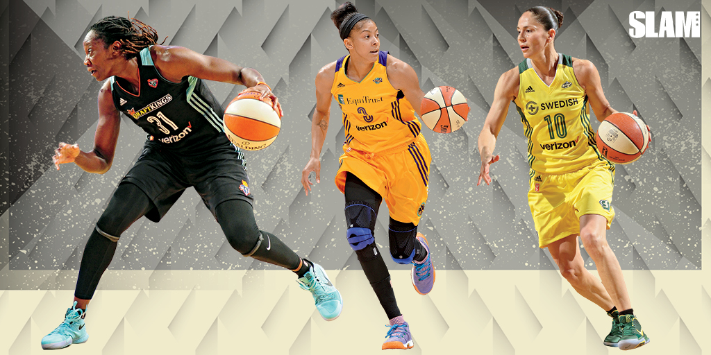The WNBA's Top Stars Laced Up Nothing But Fire Kicks All