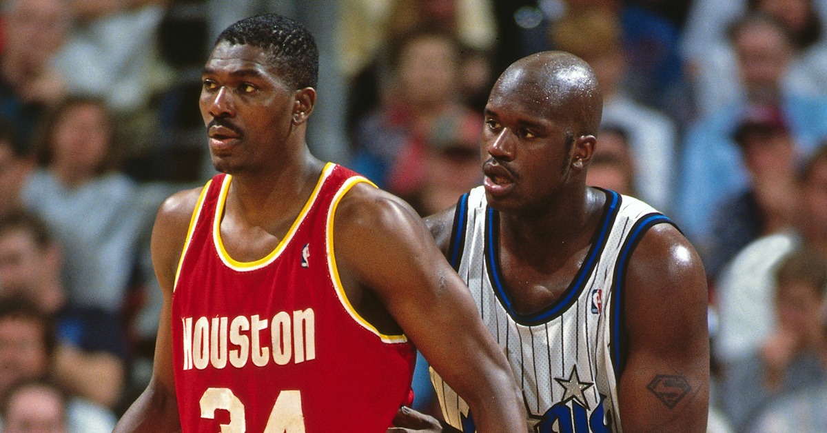 hakeem olajuwon small ball