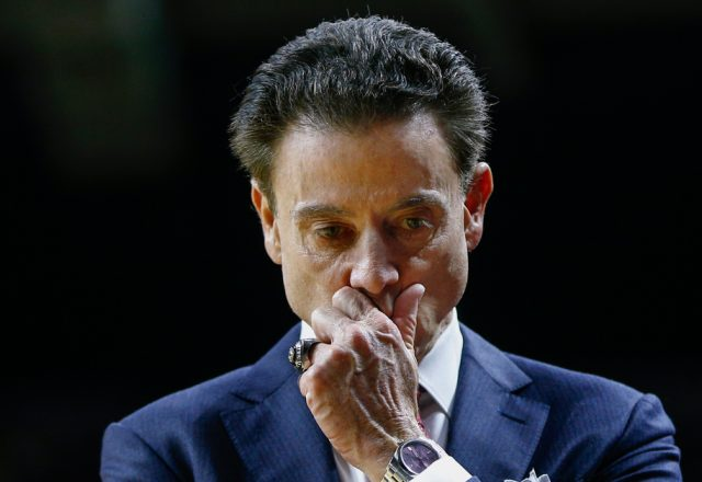 rick pitino job louisville recruiting scandal
