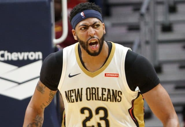 anthony davis post up