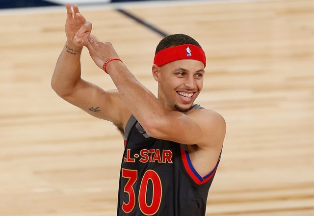 stephen curry all-star game