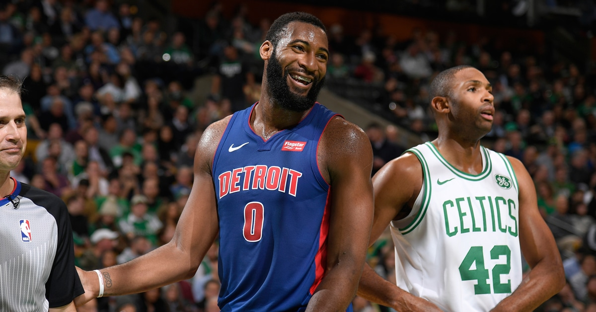 andre drummond pistons post up