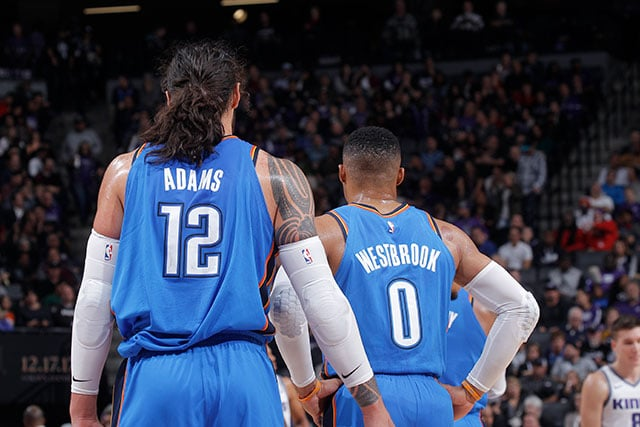 Blue//Heather Profile Big /& Tall NBA Orlando Magic Short Sleeve Screen Tee 5X