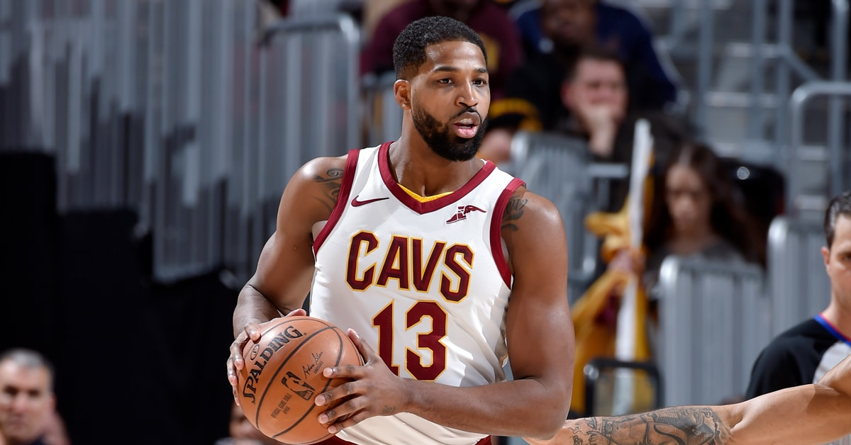 tristan thompson jae crowder starting lineup cavaliers