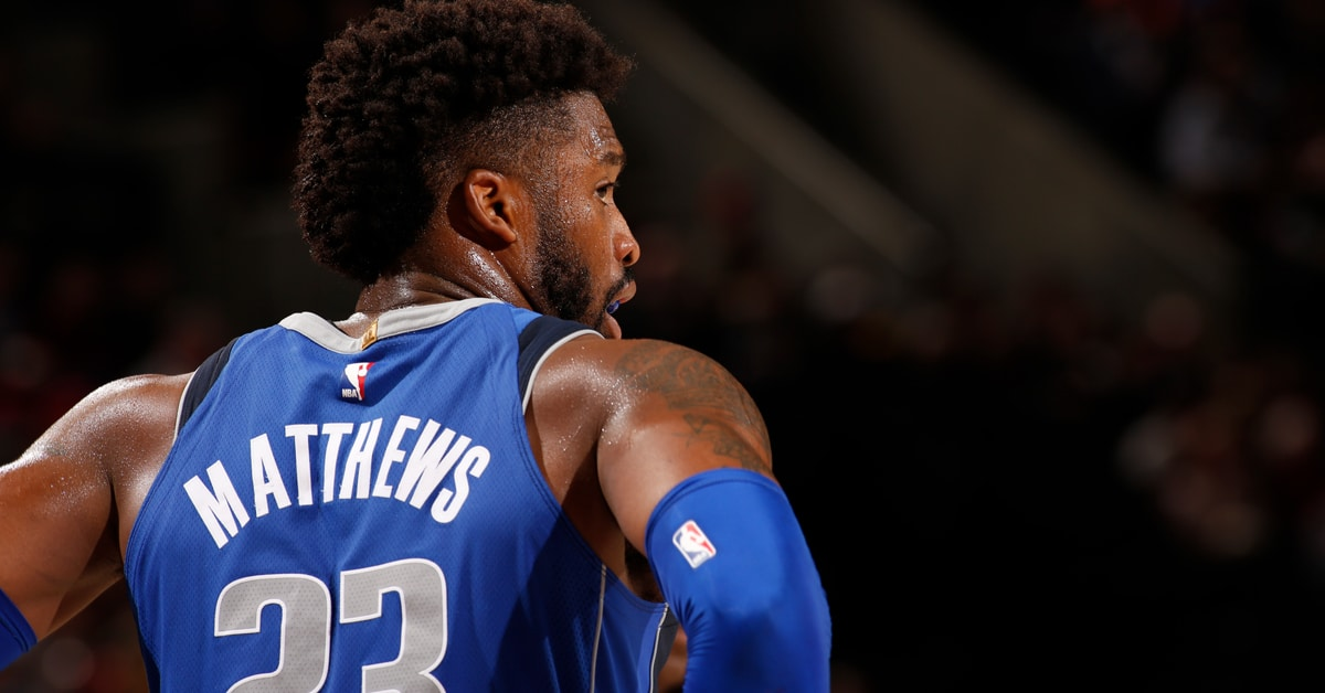 wesley matthews trade mavericks