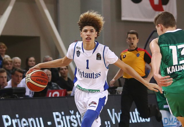 lamelo liangelo ball guaranteed contract