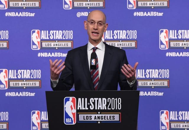 adam silver all-star draft televised